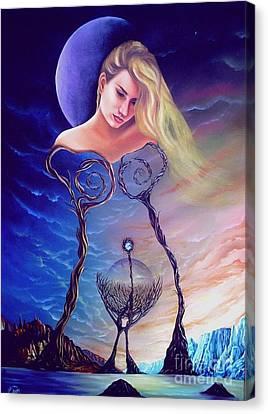 Elementos Canvas Print by Jorge L Martinez Camilleri