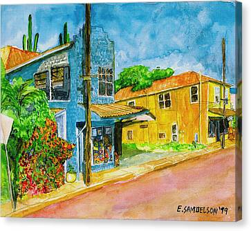 Camilles Place Canvas Print by Eric Samuelson