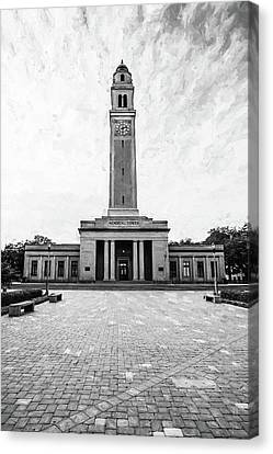 Campanile  - Memorial Tower Canvas Print by Scott Pellegrin
