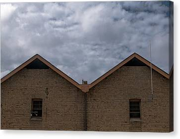 Canvas Print - Campbell's Storehouses by Steven Richman