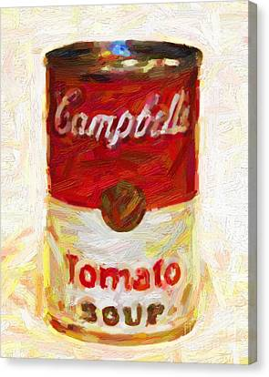 Campbells Tomato Soup Canvas Print