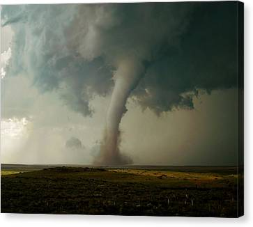 Campo Tornado Canvas Print by Ed Sweeney