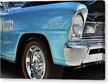 Chevrolet Acadian Canvas Print - Can ... So by Ben Prepelka