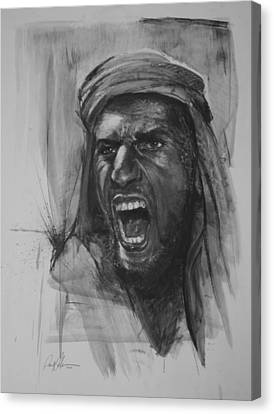 Can Anyone Speak Pashto Canvas Print by Paul Autodore