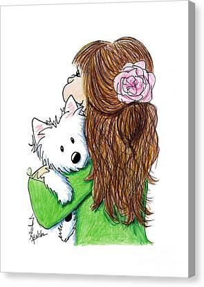 Can I Keep Him? Canvas Print by Kim Niles