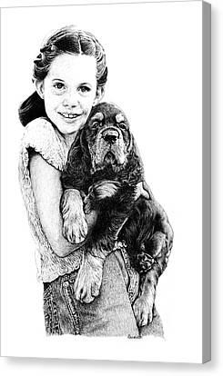 Can We Keep Him Canvas Print by Carole Raschella