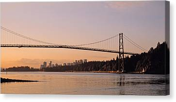 Canada, British Columbia, Vancouver Canvas Print by Panoramic Images