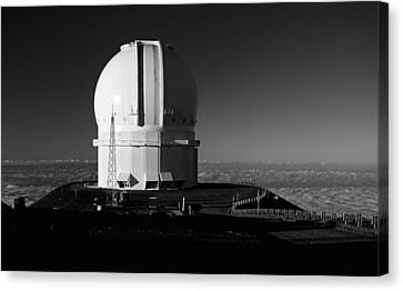 Canada France Hawaii Telescope 1 Canvas Print by Gary Cloud