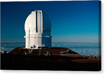 Canada France Hawaii Telescope 2 Canvas Print by Gary Cloud