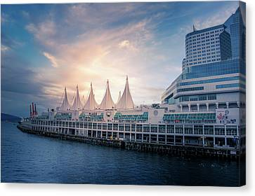 Canada Place Canvas Print