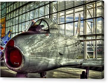 Canadair Cl-13b -f-86- Sabre Mk 6 Canvas Print