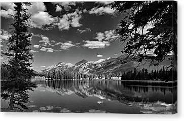 Canadian Rockies No. 4-2 Canvas Print