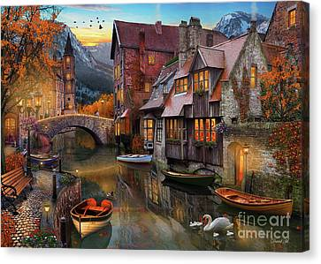 Canal Home Canvas Print