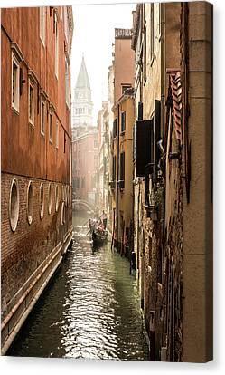 Canale Ponte De Lovo Canvas Print by Marco Missiaja