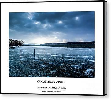 Canandaigua Lake Winter Canvas Print