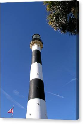 Canaveral Light Canvas Print by Allan  Hughes