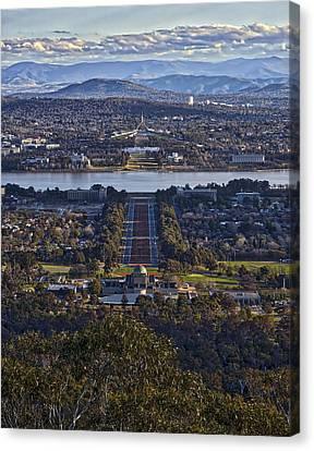 Canberra - Australia Canvas Print by Steven Ralser