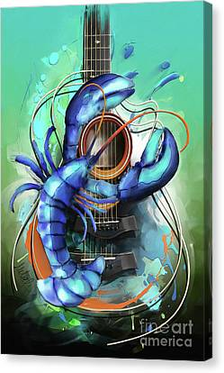 Cancer Canvas Print by Melanie D