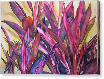 Cancun Fires Canvas Print