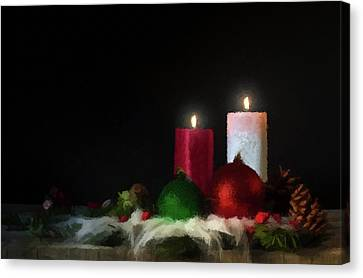 Candlelight  Canvas Print by David Dehner