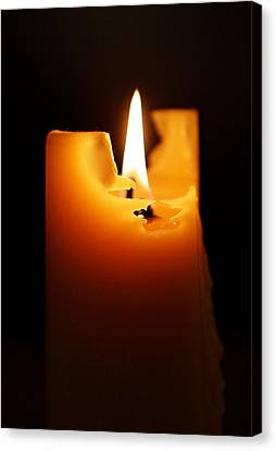 Candlelight Canvas Print by Rona Black