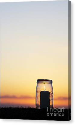 Candlelight Canvas Print by Tim Gainey