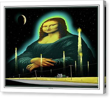 Candles For Mona Canvas Print by Scott Ross