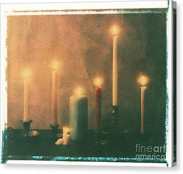 Candles Canvas Print by Jim Wright