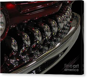 Candy Apple Bullets Canvas Print by Peter Piatt