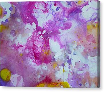 Candy Clouds Canvas Print by Tracy Bonin