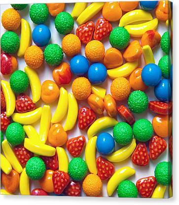 Candy Fruit Canvas Print