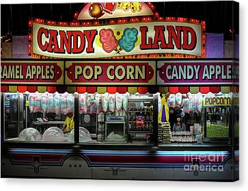Candy Land Canvas Print by M G Whittingham