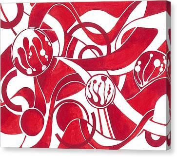 Cane Canvas Print by Adrienne McMahon