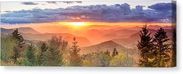Caney Fork Sunset Canvas Print