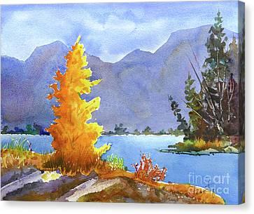 Canmore, Alberta Canvas Print