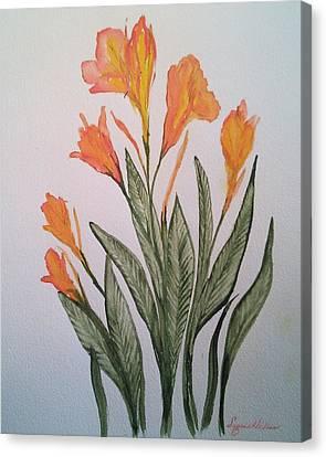 Cannas Canvas Print by Susan Nielsen