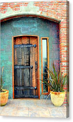 Cannery Door Canvas Print