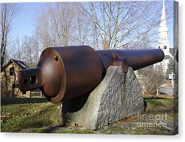 Cannon - York Maine Usa Canvas Print by Erin Paul Donovan