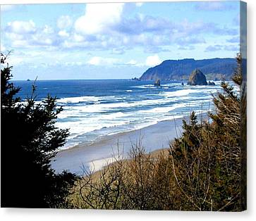Cannon Beach Vista Canvas Print