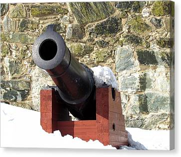 Cannon Canvas Print by Frederick Holiday