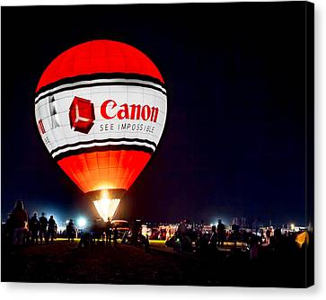 Canon - See Impossible - Hot Air Balloon Canvas Print