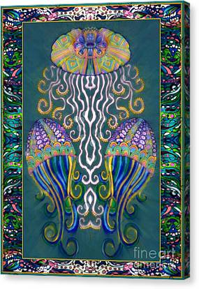 Canopy Under The Sea Canvas Print by Wbk