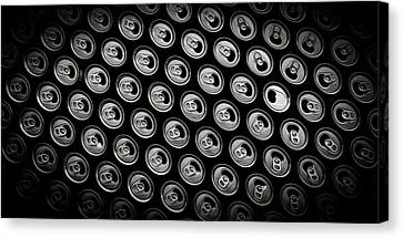Cans Canvas Print
