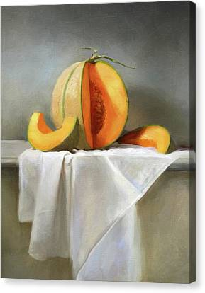 Cooks Illustrated Canvas Print - Cantaloupes by Robert Papp