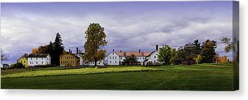 Canterbury Shaker Village Nh Canvas Print by Betty Denise