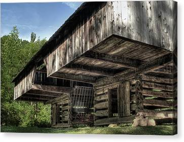 Cantilever Barn 2 Canvas Print by Michael Eingle