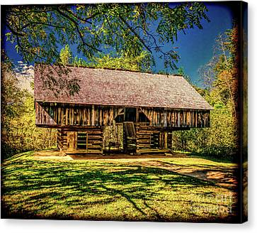 Cantilever Barn Canvas Print by Nick Zelinsky