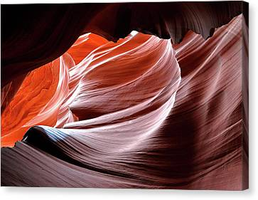 Canyon Abstract 2 Canvas Print