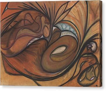 Canyon Dancer Canvas Print by Stu Hanson