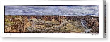 Canyon De Chelly Canvas Print by R Thomas Berner
